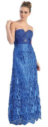 Strapless Formal Prom Dress Jr Long Evening Gown #27018 « Dress Adds Everyday
