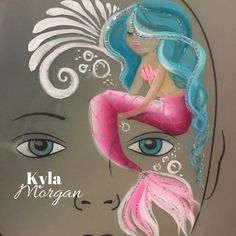Eye design Mermaid by Kyla Morgan / Skylark face and body painting Mermaid Face Paint, Face Painting Unicorn, Girl Face Painting, Painting For Kids, Body Painting, Face Painting Tutorials, Face Painting Designs, Painting Patterns, Paint Designs