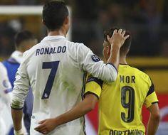 Champions League: Emotivo mensaje de Emre Mor a Cristiano Ronaldo | Marca.com