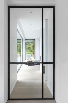 Door Design, House Design, Steel Doors And Windows, Interior Windows, House Doors, Kitchen Doors, Home Decor Bedroom, Interior Design Inspiration, Glass Door