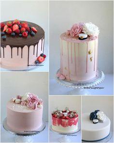 Marsispossu: Kakkuja valmistujais- ja ylioppilasjuhliin Drip Cakes, Panna Cotta, Ethnic Recipes, Party, Desserts, Cocktail, Student, Cakes, Tailgate Desserts