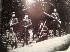 7th West Virginia Cavalry.  After WVA became a state in the midst of the Civil War in 1863, my great great grandfather Greenberry Buchanan became a soldier in this Union Calvary. I don't know who these soldiers in the picture are, but I'm sure he looked much the same.  As a child I often visited his grave on the top of a mountain. It had a WV 7th Calvary marker on it.