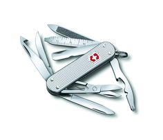 Victorinox Swiss Army Mini Champ, Silver Alox