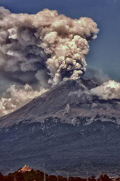 ~~Eruption ~ smoking volcano, Popocatépetl, Mexico by Cristobal Garciaferro Rubio~~