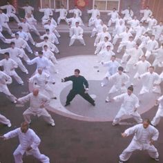 Master Chen Bing and his students do a large demostration at Chen Bing Taiji Academy Headquarters in Chenjiagou. Tai Chi, Chen, Students, Yoga, Photo And Video, Yoga Tips, Yoga Sayings