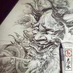 regram @art_motive Artwork by artist @zhiyong_tattoo #supportartists #theartisthemotive .