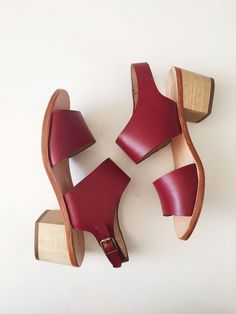 e13f75786b1 Rachel Comey Tulip Sandal - Red Red Shoes