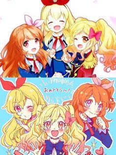 Yume,Ichigo and Akari