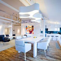Stunning Loft Apartment in Chisinau by Grosu Art Studio.