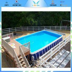 Inspirational INTEX Frame Pool Set Ultra Quadra x Leiter Salz SandFilter Deluxe Reinig Unbedingt kaufen Pinterest