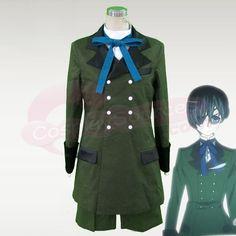 Wholesale Kuroshitsuji Ciel Phantomhive Cosplay Costume