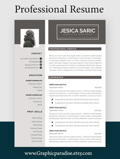 Professional resume, CV, Cover letter, WORD Resume, Editable Resume, resume, 1 page resume+ cover letter #resumeasy #resumensemanal #resumeninteligente #resumch