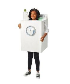4 homemade Halloween costumes from a cardboard box