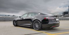 Tesla Model S Lowered Vossen 22 inch Tesla S, Tesla Motors, Transportation, Trucks, Nice, Vehicles, Model, Cars