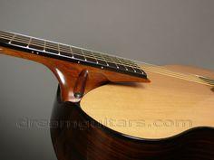 floating fingerboard, Michi Matsuda guitar