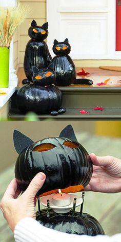 Cool DIY Pumpkin Halloween Decorations