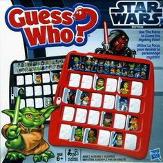 Guess Who? Star Wars Edition