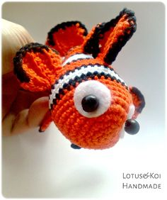 Amigurumi Sailor Octopus Pattern Free : Amigurumi, Amigurumi patterns and Finding nemo on Pinterest
