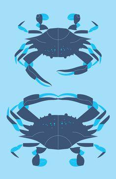 Crabs by Eleanor Grosch