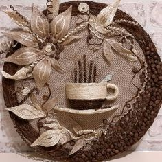 1 million+ Stunning Free Images to Use Anywhere Cd Crafts, Burlap Crafts, Diy Arts And Crafts, Bottle Crafts, Fabric Crafts, Easy Crafts, Jute Flowers, Folk Art Flowers, Fabric Flowers