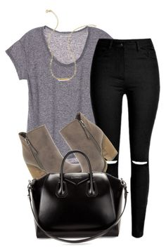 """""""What I'd Wear"""" by monmondefou ❤ liked on Polyvore featuring mode, Sbicca, Givenchy et Wish by Amanda Rose"""