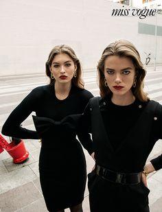 Grace Elizabeth and Mathilde Brandi