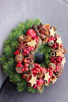 winter wreath / zimowy wianek / teDOM.pl