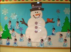 Cute Winter Bulletin Board