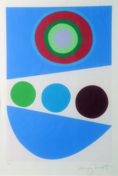 Sir Terry Frost - ~ for Silk screen print x 36 cm). Jewelry Wall, Silk Screen Printing, Geometric Art, Color Theory, Contemporary Artists, Album Covers, Color Schemes, Cool Art, Mosaic