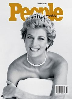 """Worlds Best Magazine Covers, The Photos that Provoked the World (6) - """"PEOPLE"""", Lady Di, 1997 ..."""