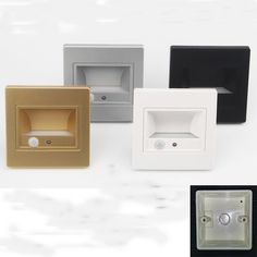 Sensor Night Lights, Led Night Light, Light Sensor, Baby Bedroom, Bedroom Lighting, Led Lamp, Floating Nightstand, Wall, Home Decor