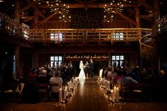 I'm loving this venue for both indoor and out! Oregon wedding venue - Sunriver Resort