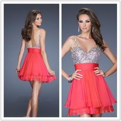 red fabulous homecoming dresses/party dresses/cocktail dresses dreamy style to spotlight