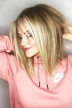 18 Amazing Ideas for Long Bob Haircuts ★ Straight Long Bob Hairstyles for Fast Perfect Look Picture 6 ★ See more: http://glaminati.com/long-bob-haircuts/ #longbobhaircuts #bobhairstyle #BlondeHairstylesBob