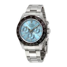 6c1a00f25dc Rolex Oyster Perpetual Cosmograph Daytona Ice Blue Dial Automatic Mens  Chronograph Watch 116506 Best Watches For