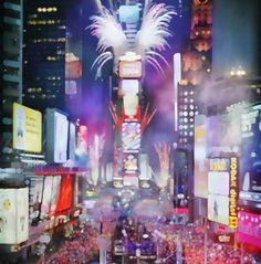 New York - Times Square - New Years Eve - Lee n Paul 2013!!!!!!!!!