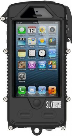 Obudowa typ IP68 dla iPhone 5/5s solarna z baterią  www.4visio.eu