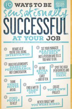 americanexpress: 10 Ways to be Sensationally... | The Good Idea Exchange #Careeradvice
