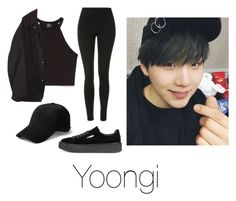 """Shopping with Yoongi"" by infires-jhope on Polyvore featuring Zara, Topshop, Barbour, rag & bone and Puma"