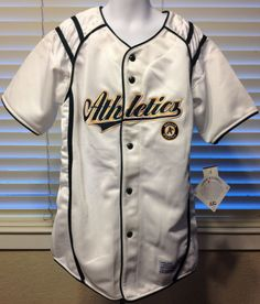 OAKLAND ATHLETICS NEW MLB COOL BASE KIDS JERSEY