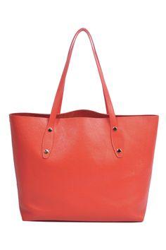 Coral Totem Tote | CK Bradley Coral, Zipper, Tote Bag, Tote Bags