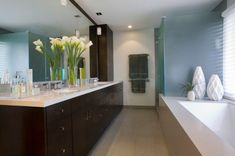 Awesome Zen Bathroom |If you have plan Zen bathroom interior design, best option is use soft color, soothing colors, such as soft, brown green and gray on walls and elements of your bathroom for a relaxing and natural effect. Keep your black and white or different shades of same color. Neatness... - http://www.cammnet.com/2016/07/25-awesome-zen-bathroom.html