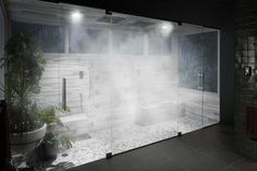 Create a Transformative Showering Experience – Whether you're looking to kick-start the day or unwind for the evening, Kohler offers a range of transformative showering solutions that achieve your ideal experience. Steam Room Shower, Steam Showers Bathroom, Bathroom Spa, Bathroom Mirrors, Remodel Bathroom, Bathroom Cabinets, Bathroom Ideas, Shower Ideas, Dream Shower