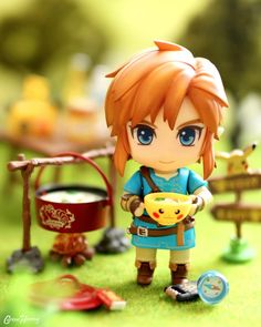 The Legend Of Zelda, Legend Of Zelda Breath, Nintendo Decor, Botw Zelda, Anime Figurines, Cute Games, Link Zelda, Otaku, Good Smile