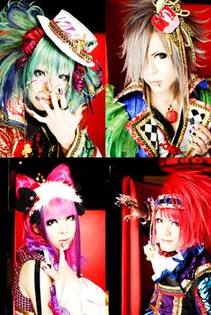 Aicle..my cute oshare kei band..they're breaking up.. *sigh*