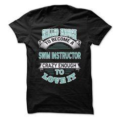 Swim Instructor T Shirts, Hoodies Sweatshirts. Check price ==► http://store.customtshirts.xyz/go.php?u=https://www.sunfrog.com/LifeStyle/Swim-Instructor-61761689-Guys.html?41382