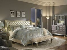 old hollywood glamour decor | ... decorating Hollywood glam style bedrooms - vintage glam - old style