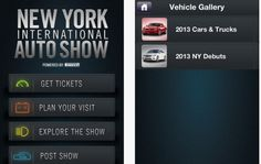 With the 2013 New York Auto Show now underway, well for press anyway, you might wonder how you will get around considering there is so much to see. Thankfully there's and iOS app for that, and it offers more than just showing you where things are.
