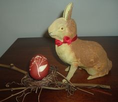 Rabbit Candy Container Made In Germany