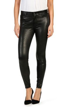 CASUAL PANT    PAIGE PAIGE 'Verdugo' Ankle Skinny Leather Pants available at #Nordstrom
